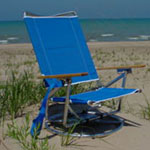 Suntracker product information for Suntracker beach chair
